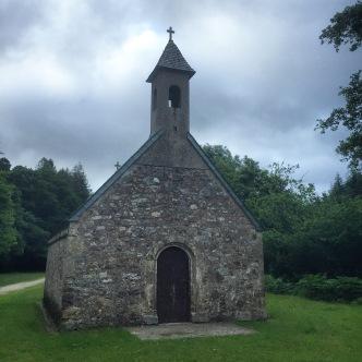 La Chapelle Saint-Jouvin near our Airbnb in Brix, France.