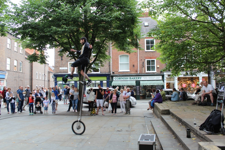 Street Performer in York