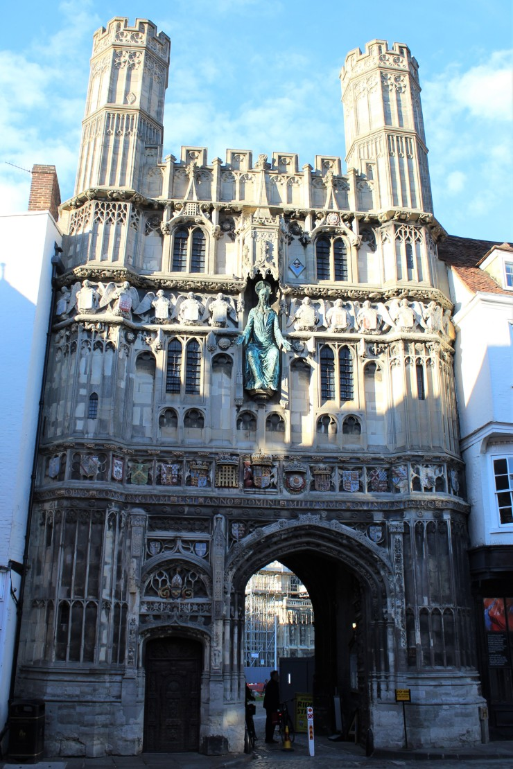 Canterbury Cathedral Gate