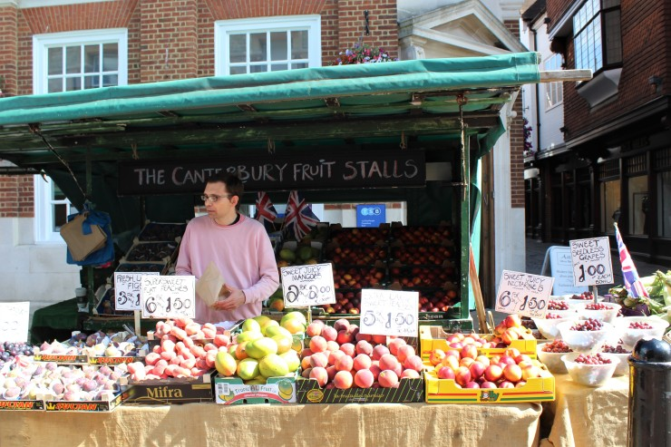 Canterbury Fruit Stall