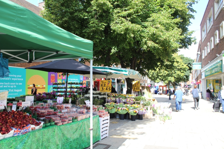 Canterbury Market Stalls