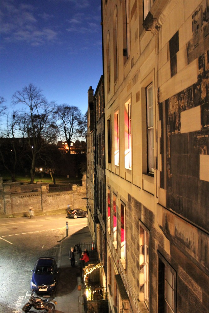 Dusk at Edinburgh