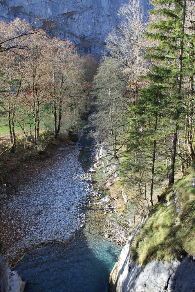 Trümmelbach Falls output