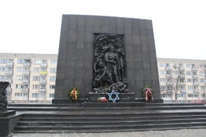 Warsaw Ghetto Heroes Monument