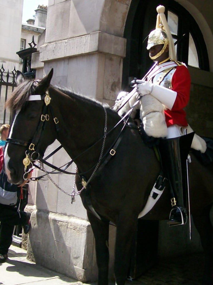 Horse Guards on Whitehall