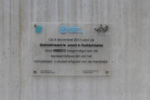 Paardenvisser UNESCO Plaque