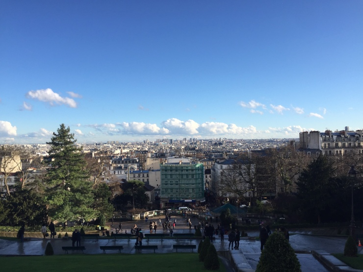 Sacré-Cœur view