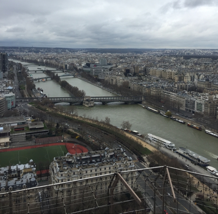 View from the Eiffel Tower.