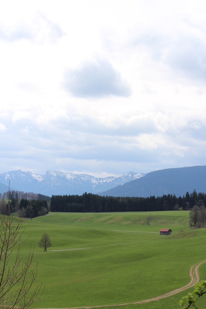 Near Wildsteig