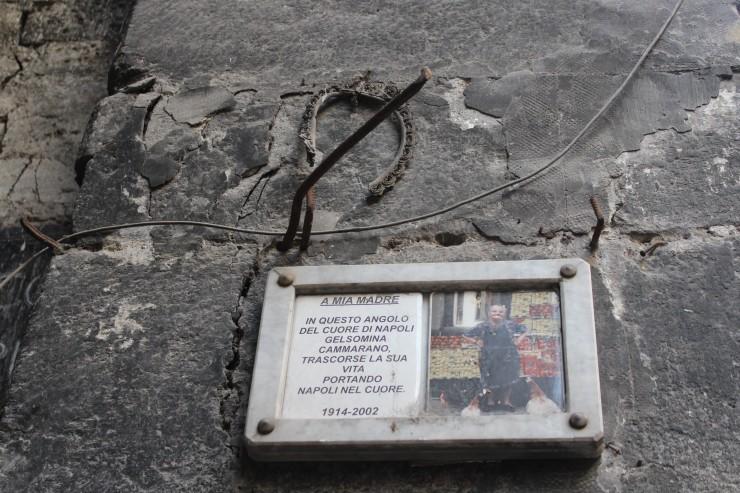 Naples memorial