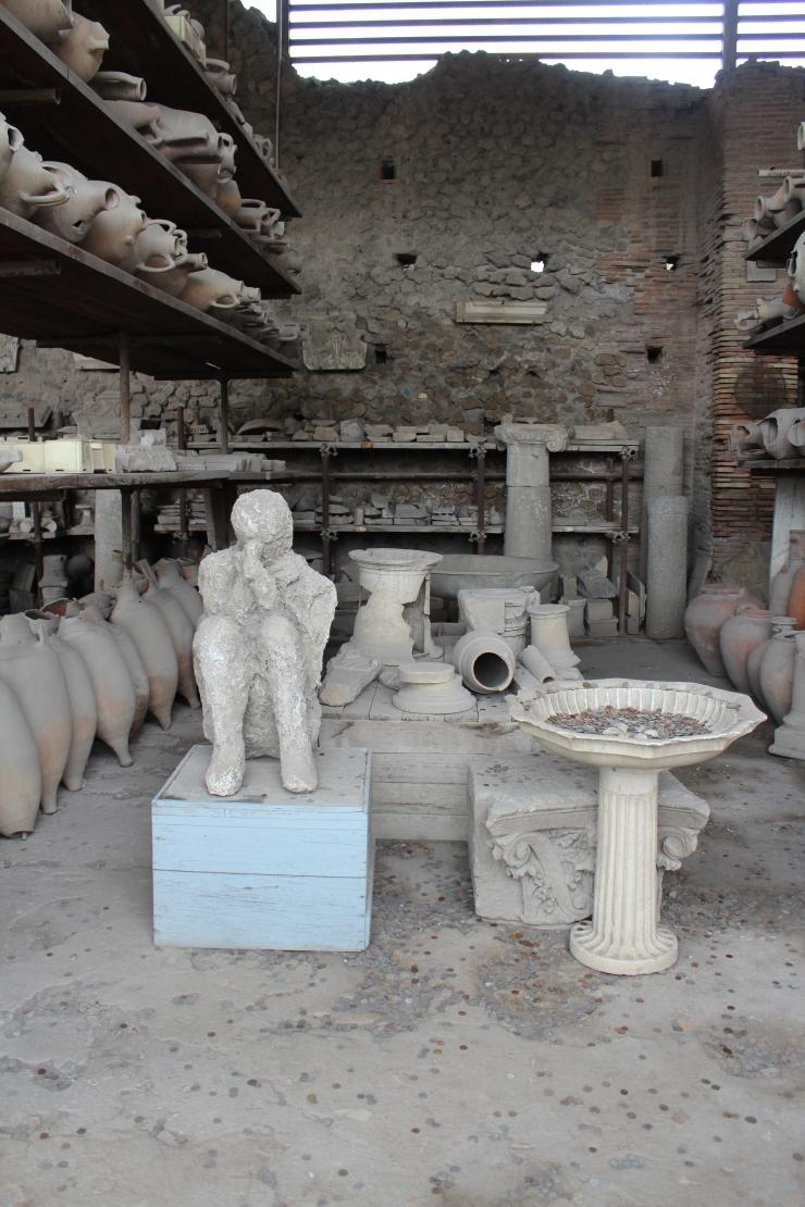 Forum Granaries