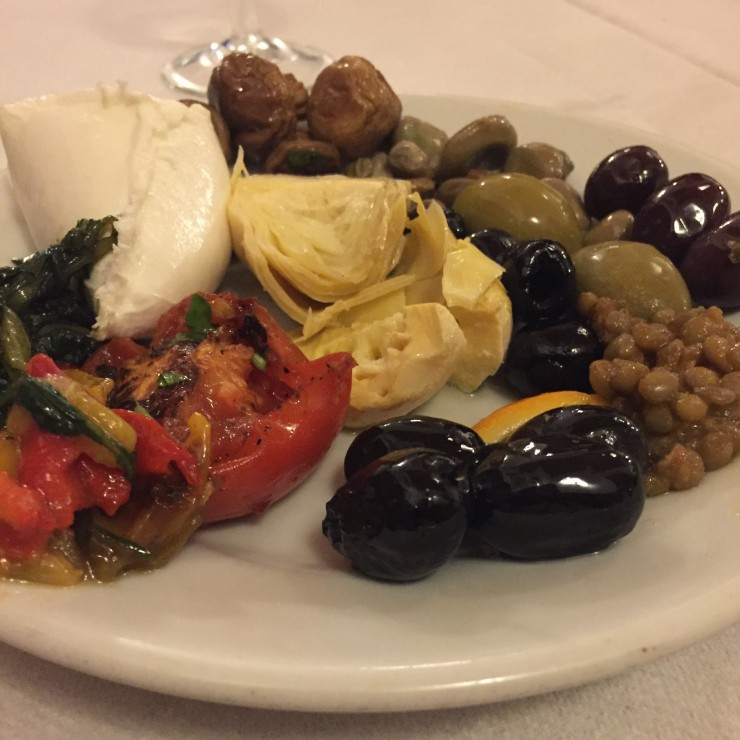 Italian Vegetables and Cheese