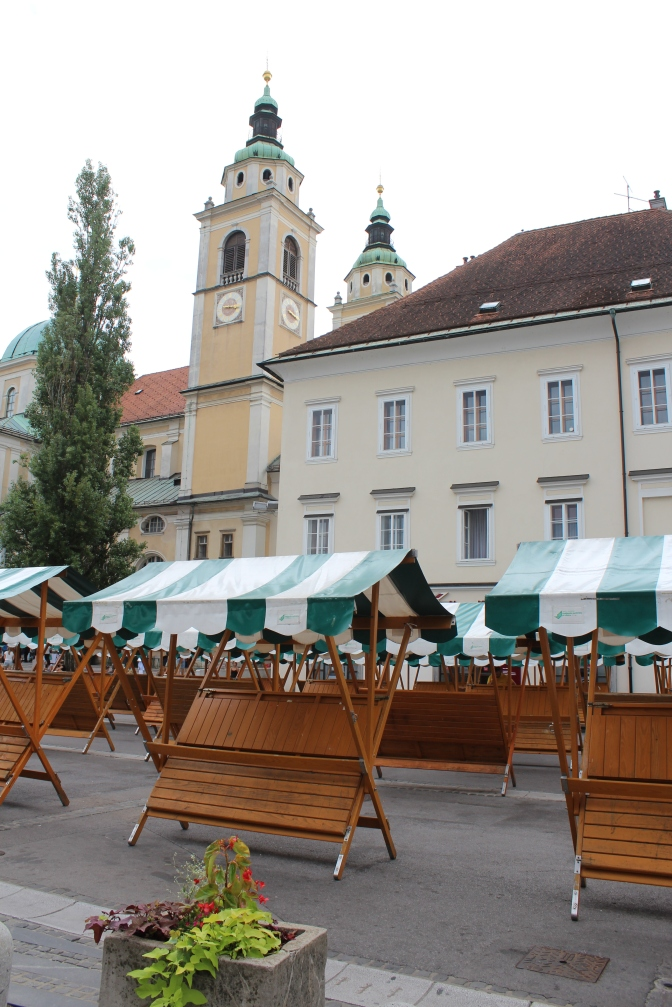 Ljubljana's Central Market