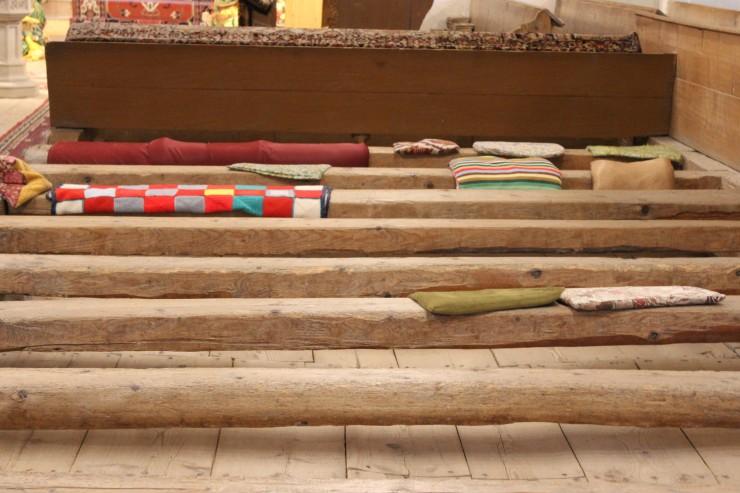St Nikolaus Church benches