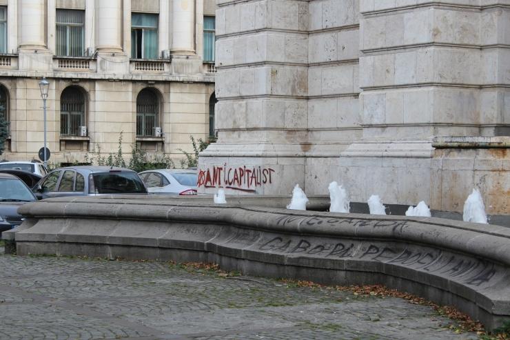 Bucharest graffiti