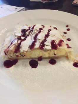 Romanian cream cake.