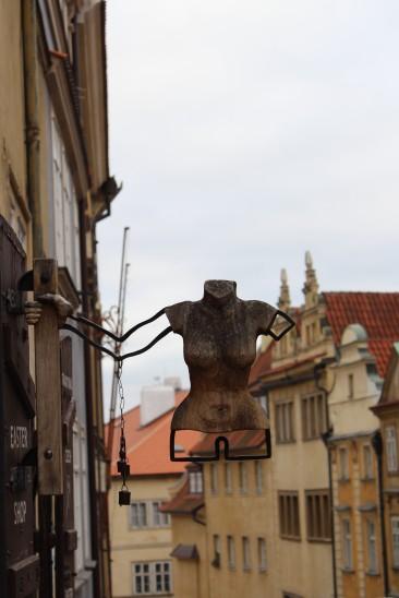 Prague shop sign