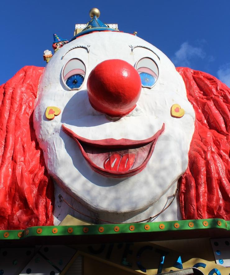 Wurstelprater Clown