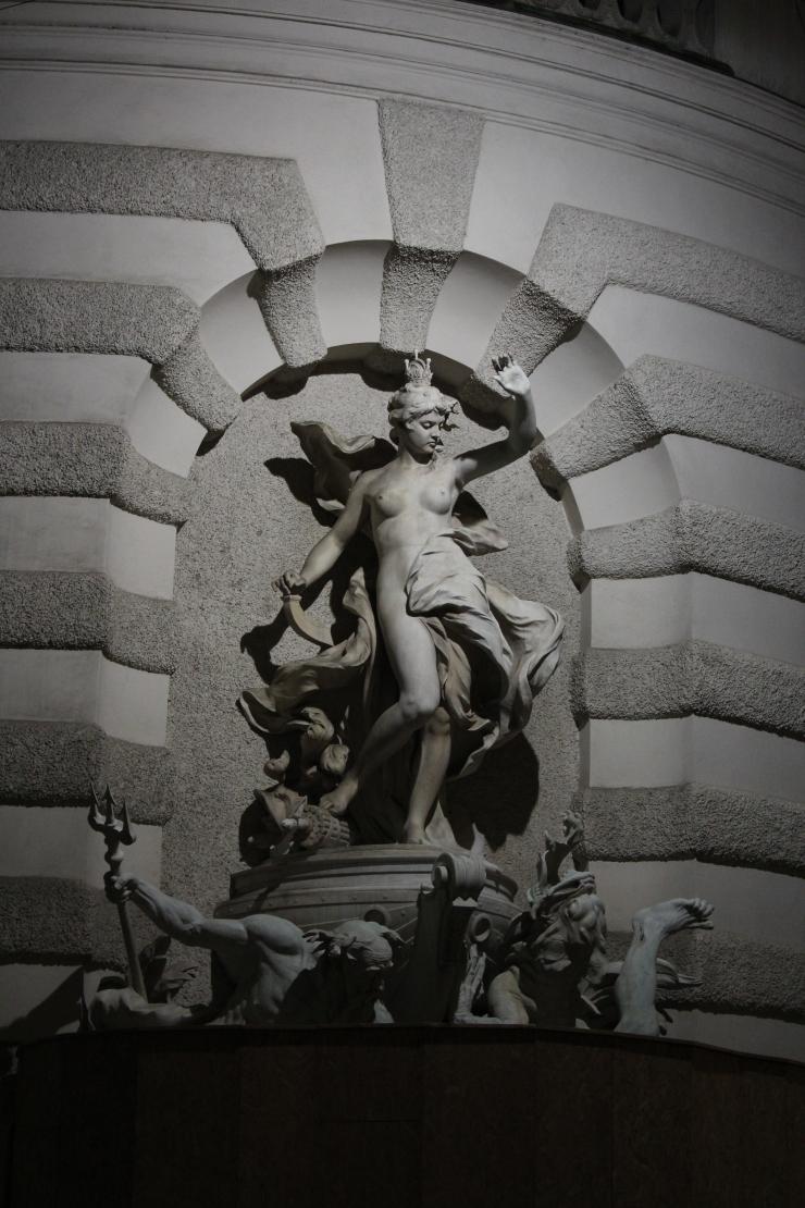 Hofburg statue