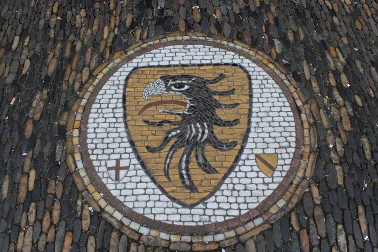 Freiburg stone mosaic