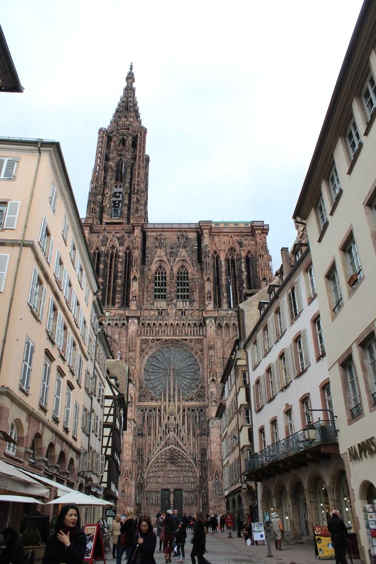 Strasbourg's Cathédrale Notre Dame.