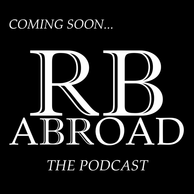 RB Abroad Logo white text podcast coming soon