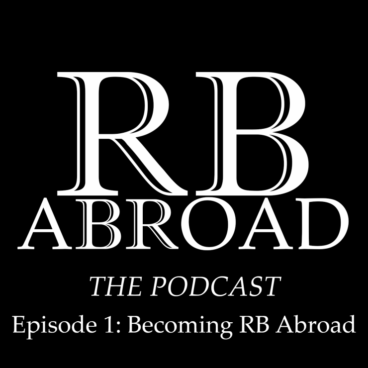 RB Abroad Logo white text podcast episode