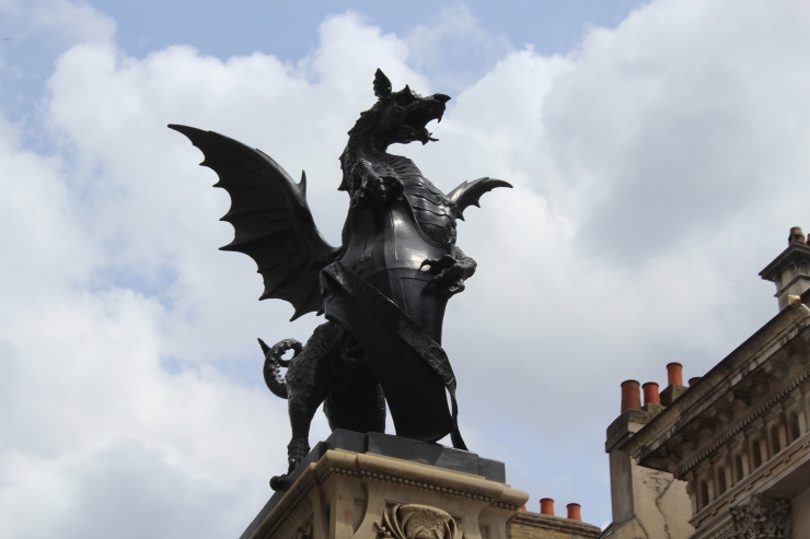 Dragon Statue in London