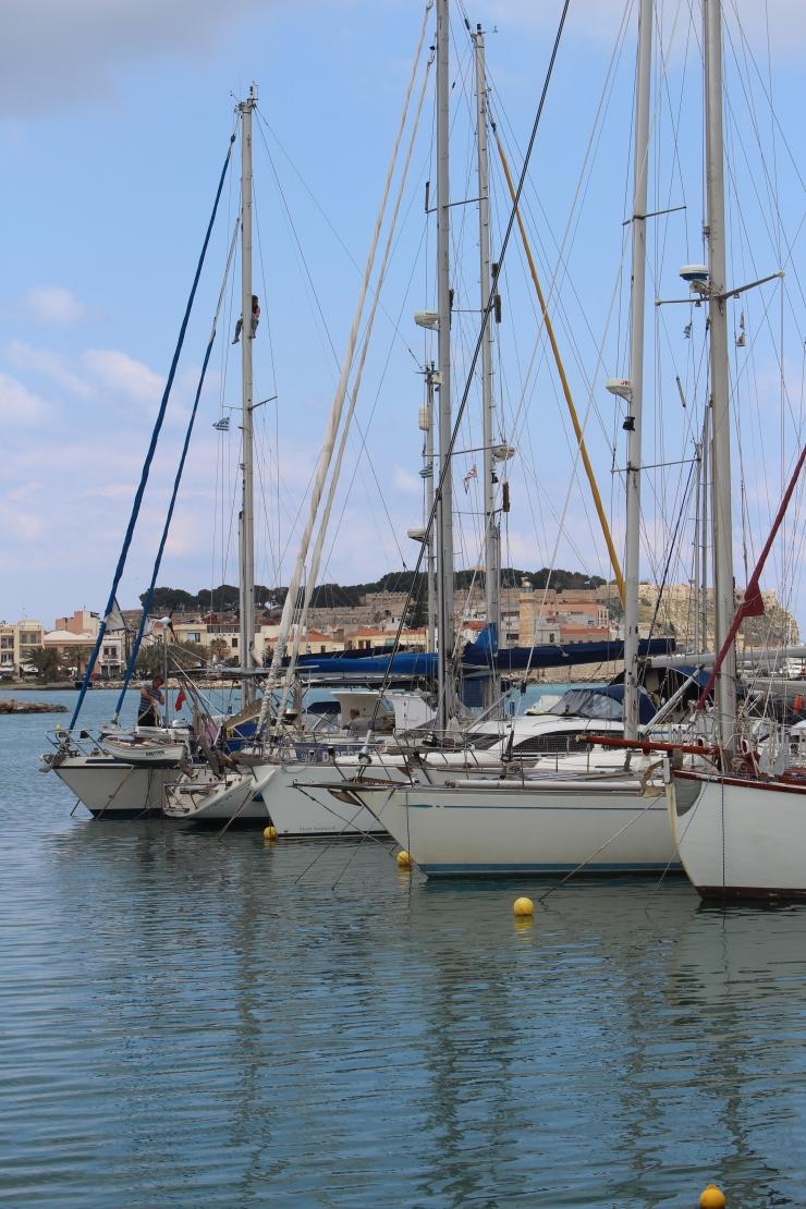 Rethymno harbor